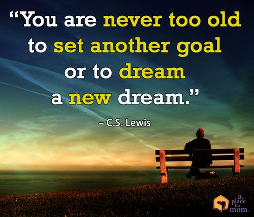 you're never too old to start